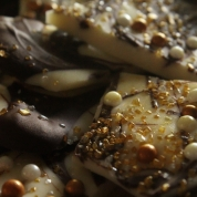 Up close of the chocolatey goodness!