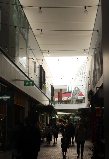 Laneway reminiscent of Melbourne