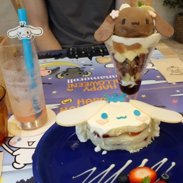Cinnammoroll Cafe food 1