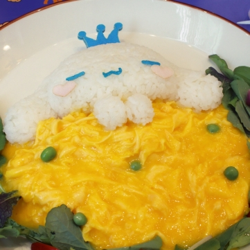 Cinnammoroll Cafe food 2